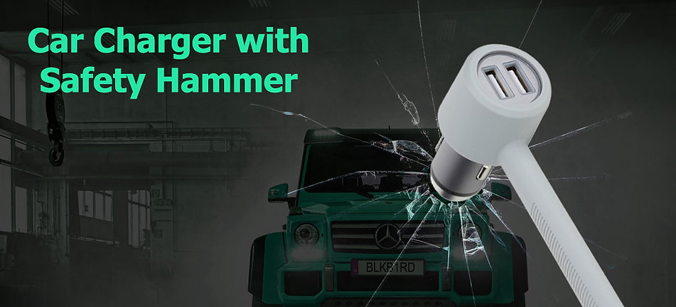 AFT Car Charger Safety Hammer