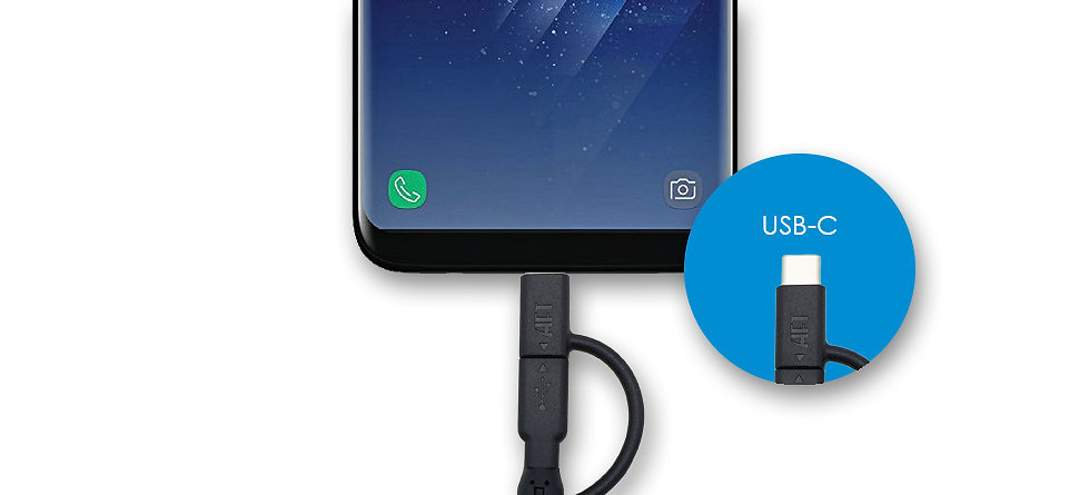 MFI Certified 2-in-1 Cable