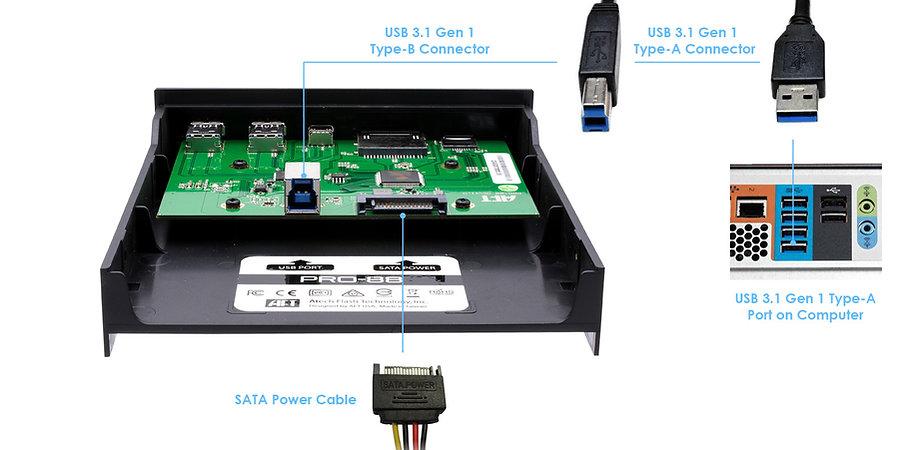 USB 3.1 Reader Hub