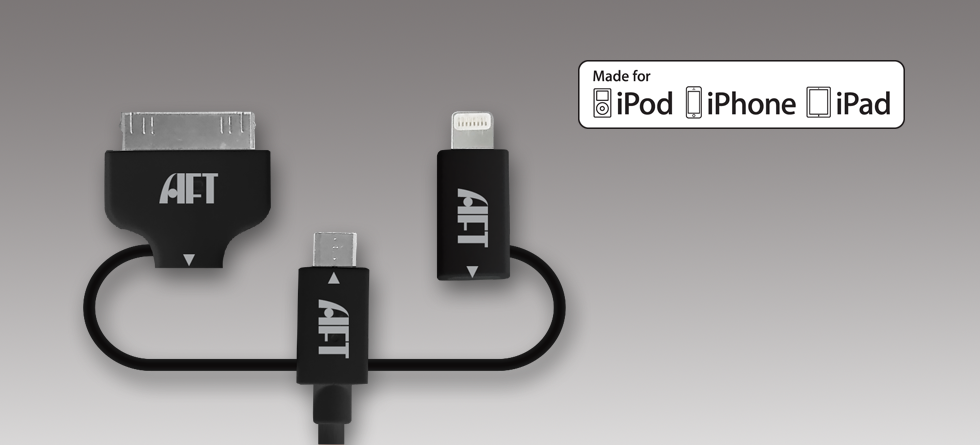 3-in-1 Kiosk Smart Cable