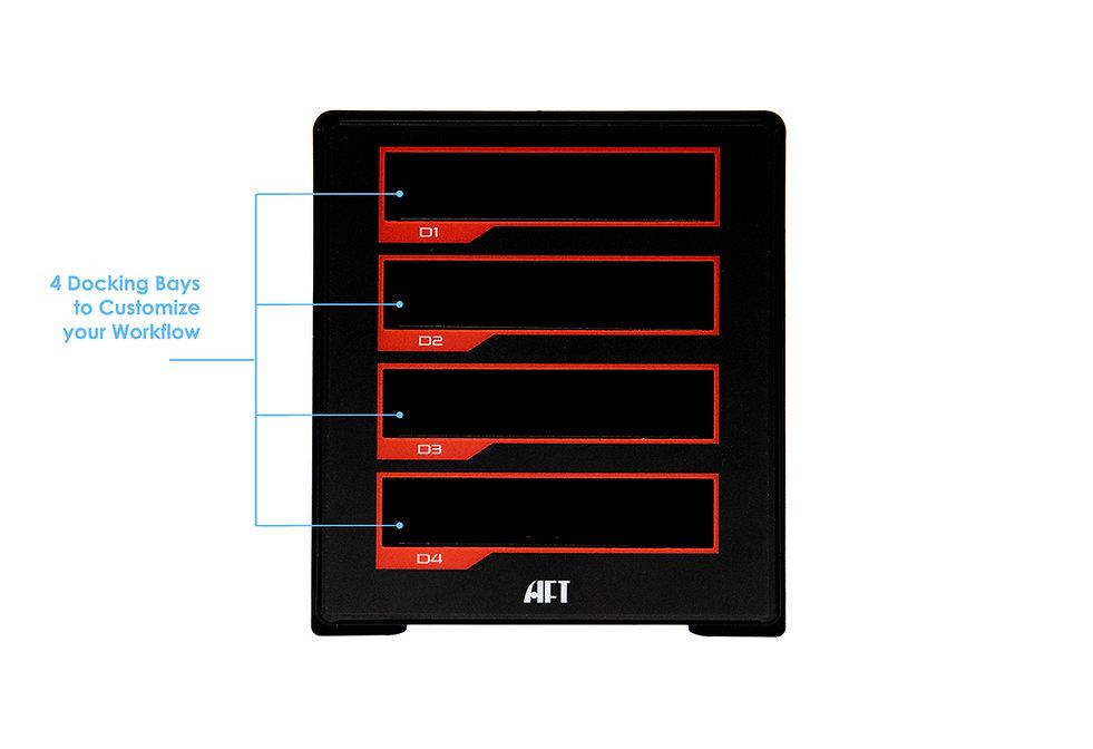 TX-4DS Front Diagram