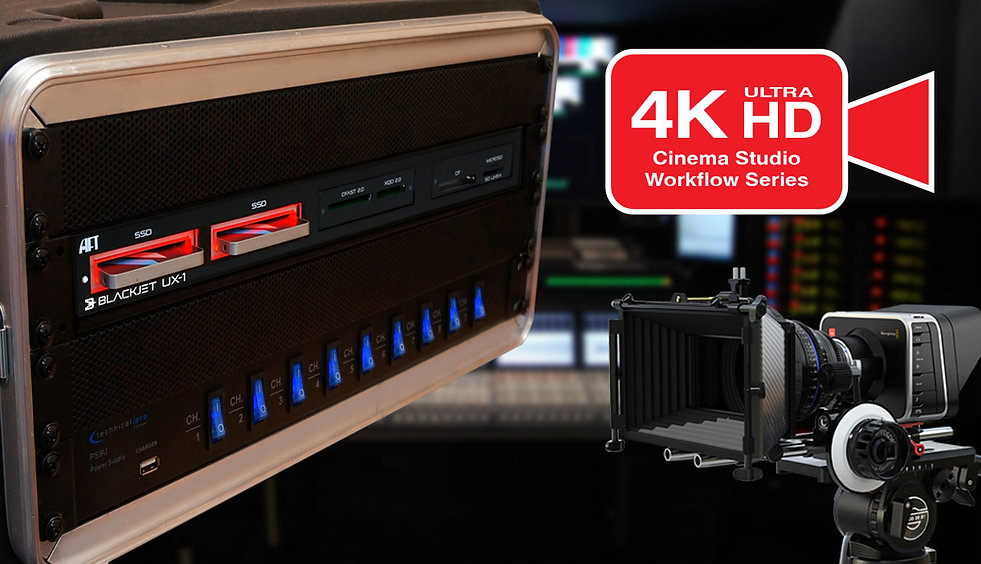 Thunderbolt 3 Media Reader 4K Video