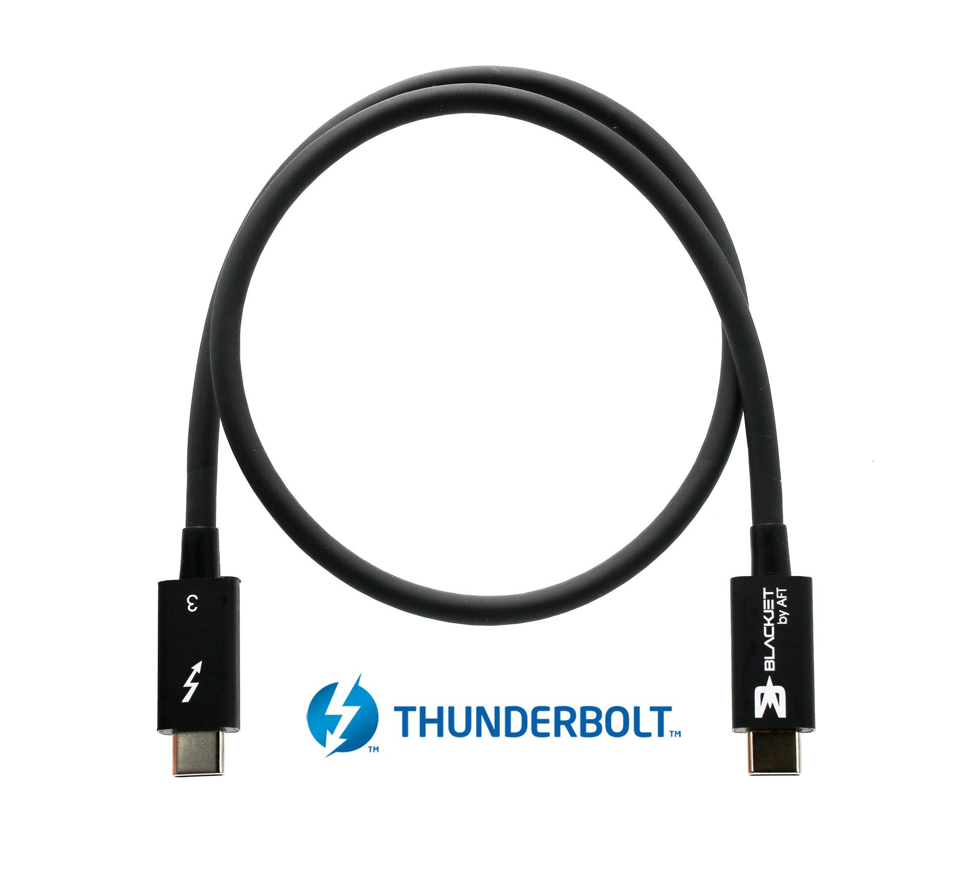 Blackjet Thunderbolt 3 Cable