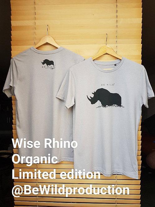 TEE SHIRT - WISE RHINO (Men)