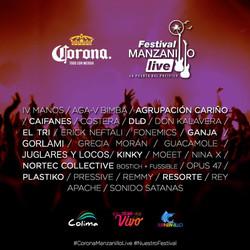 Corona Manzanillo Live