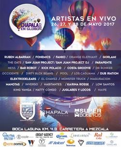 Festival del Globo en Chapala