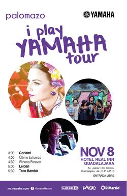 I Play Yamaha Tour