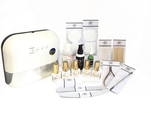 Gel Polish Kit - With Lamp