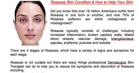 Rosacea Skin Homecare Regimen by Skin & Body Alchemy