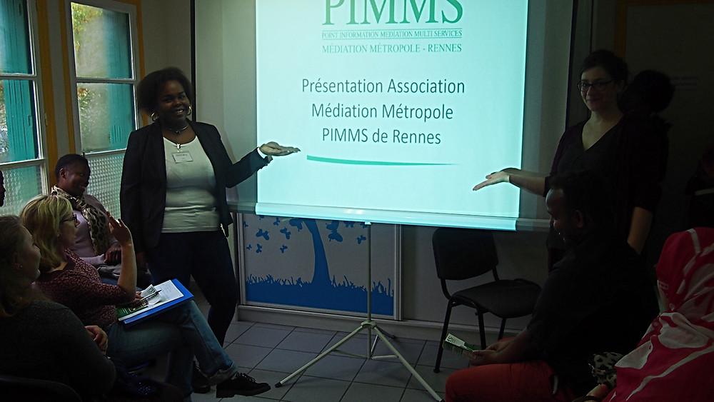 Le CLPS accueilli à Médiation Métropole PIMMS Rennes