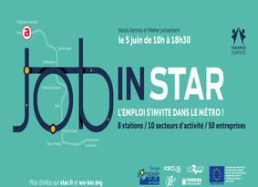 Job in STAR & Fête du PIMMS, le mercredi 5 juin