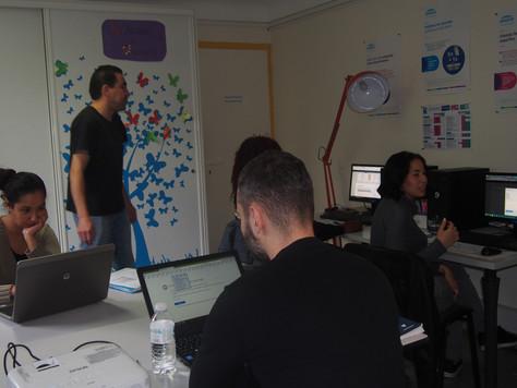 Atelier numérique en interne