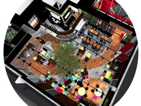 Soutenez le projet du Quartet, resto inventif dans l'immeuble Le Quadri