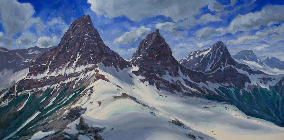 "Whitetail Peaks Panorama 24x48"""
