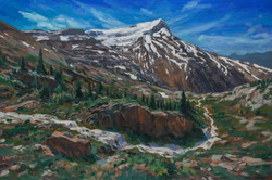 Alpine Views of Mt. Andromache