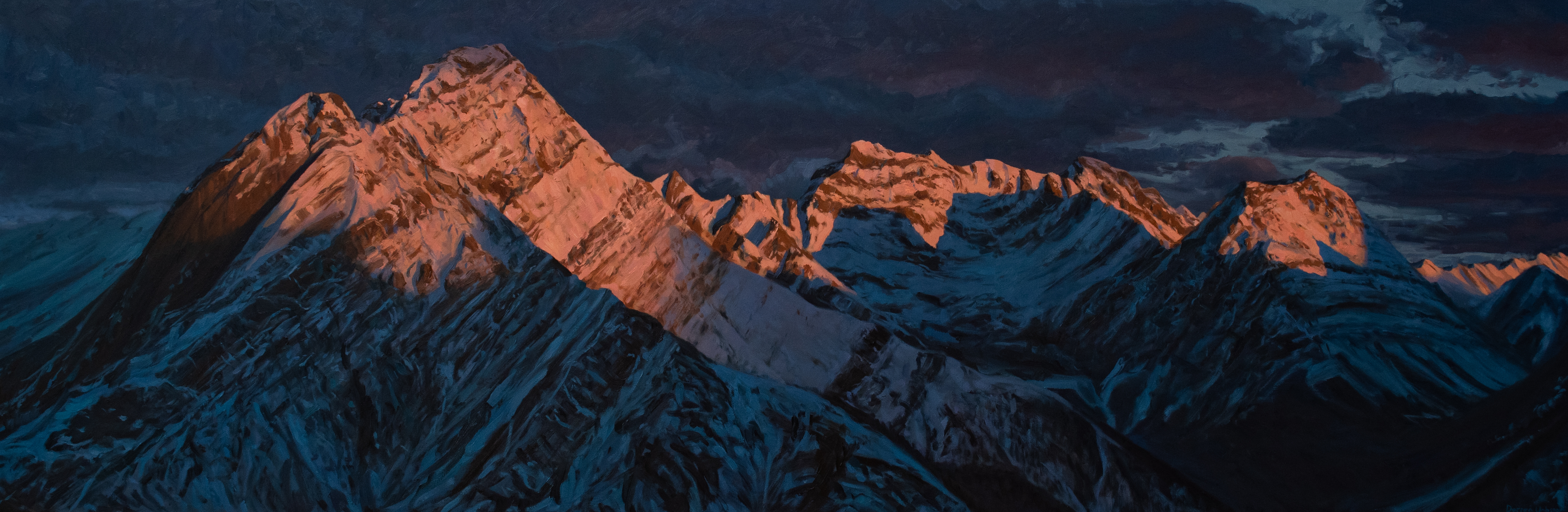 First Light on Cone Mountain