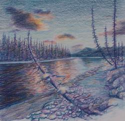 Bow River Aglow