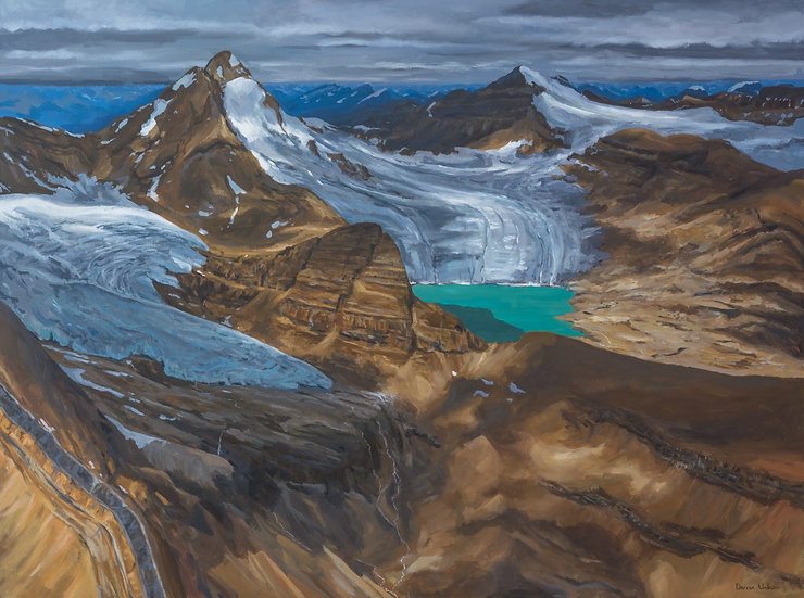 """Glacier des Poilus 36x48"""""""