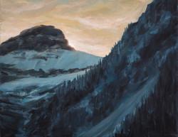 Sunset Over Breaker Mt.