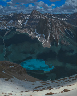 Emerald Lake From Above