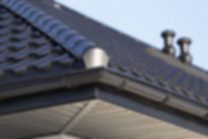 Corner of a Roof Gutter