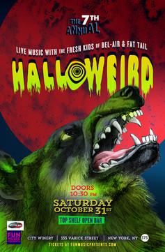 Halloweird 2015 | City Winery Poster