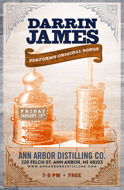 Darrin James Band | poster
