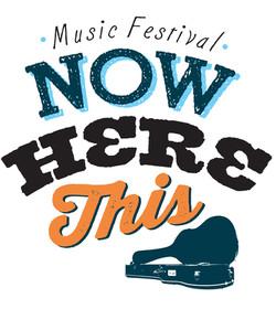 Now Here This Festival Branding