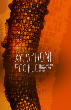 Xylophone People, Poster Design