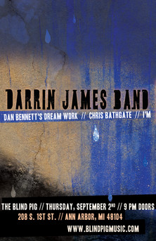 Darrin James Band | The Blind Pig