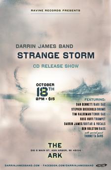 Strange Storm | CD Release Poster