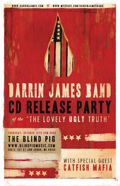 Darrin James Band | Branding/Album/Poster