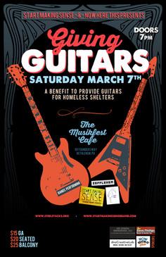 Giving Guitars | Benefit | Martin Guitar + SMS