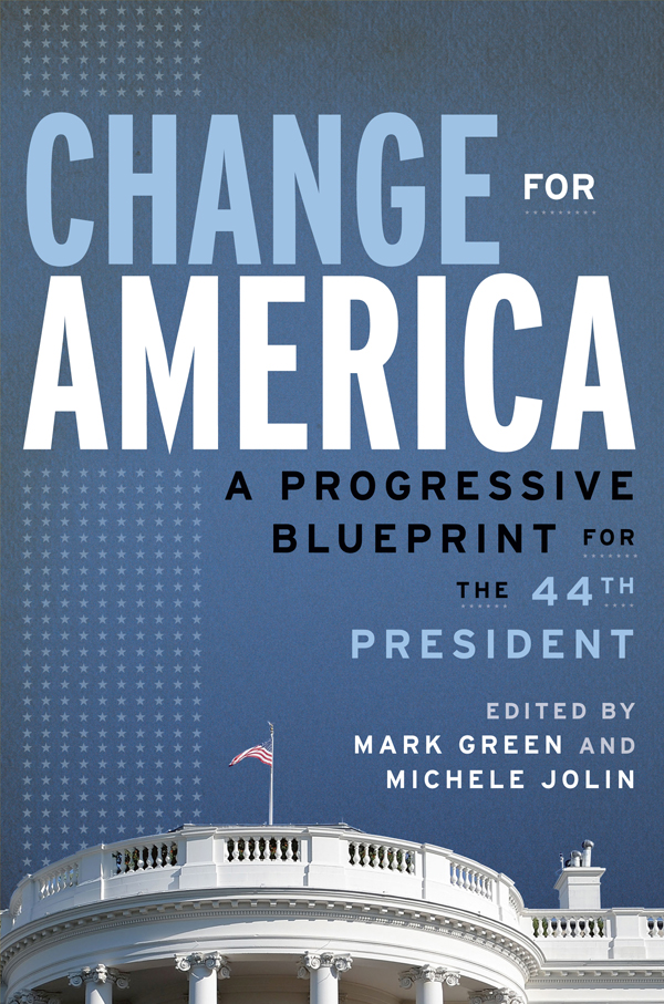 Change for America, The 44th Preside