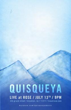Quisqueya, Poster