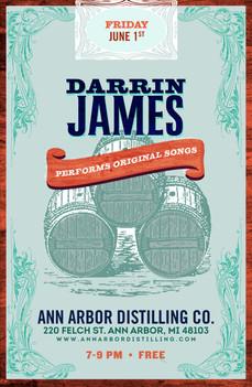 Darrin James Band | Poster Design