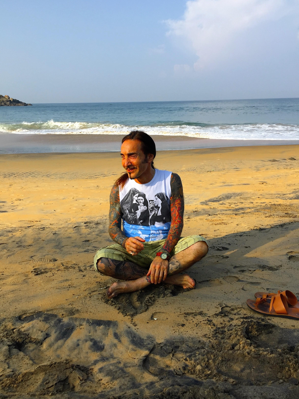 David Sye - India yoga teacher