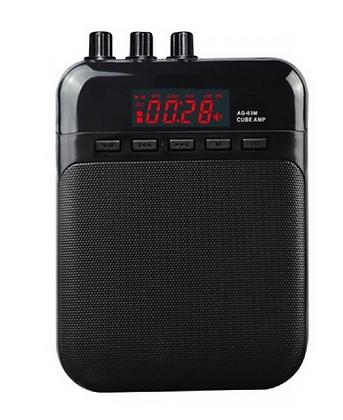 MINI AMPLIFICADOR AG-03 EK audio (RECARGABLE)