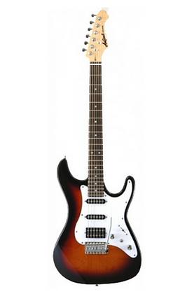 "Guitarra ""ARIA"" Stratocaster Serie STG-STV sombreado"