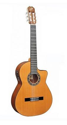 "Guitarra ""ADMIRA"" Malaga Electrificada Cutaway"