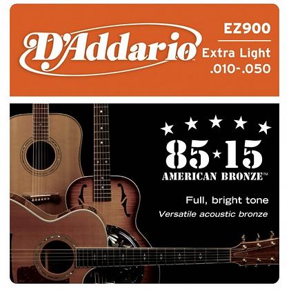 "Cuerdas para Guitarra Acústica ""D´Addario"" EZ900"