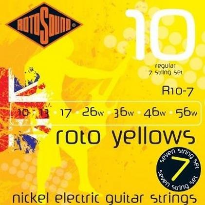 """Cuerdas para Guitarra Eléctrica """"ROTOSOUND"""" R10-7"""