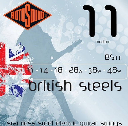 "Cuerdas para Guitarra Eléctrica ""ROTOSOUND"" BS11"