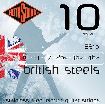 "Cuerdas para Guitarra Eléctrica ""ROTOSOUND"" BS10"