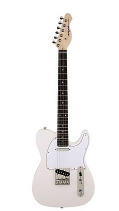 "Guitarra ""ARIA"" Telecaster 615-Frontier marfil"