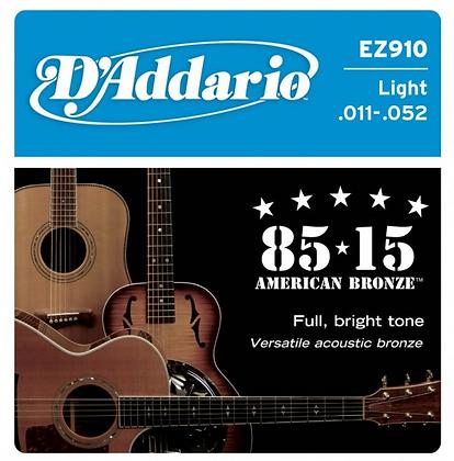 "Cuerdas para Guitarra Acústica ""D´Addario"" EZ910"