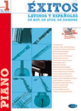 """Partituras para Piano """" EXITOS LATINOS Y ESPAÑOLES"""""""
