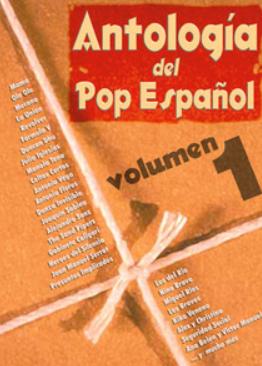 """Partituras para Voz, Piano y Guitarra.""""ANTOLOGIA DEL POP ESPAÑOL"""" Vol.2"""