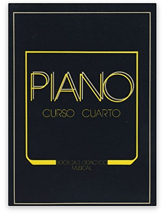 """Curso  Cuarto de Piano """"SOCIEDAD DIDÁCTICO MU"""