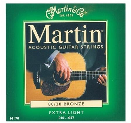 """Cuerdas para Guitarra Acústica """"MARTIN"""" 170"""